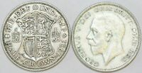 1928 to 1936 George V Silver Halfcrown Second Design Your Choice of Date / Year
