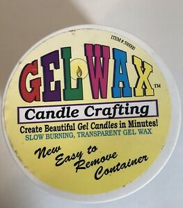 Yaley Candle Crafting Gel Wax Transparent Slow Burning New Easy To Remove