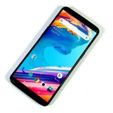 OnePlus 5T A5010 4G Dual Sim Black Unlocked Sim Free SMASHED SCREEN WORKS 994