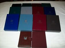 1983 - 1997 Complete set US Proof Prestige sets ( 14 sets )