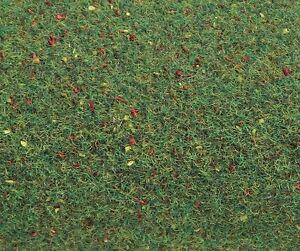 (1qm=9,96 €) Faller 180752 Ground Mat, Flower Meadow 100x250 CM Kit New