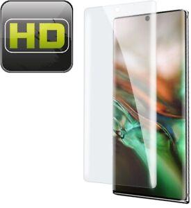 1x Displayschutzfolie für Samsung Galaxy Note 10 Pro FULL COVER Schutzfolie KLAR