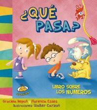 Que pasa? Libro sobre los numeros (Spanish Edition) (Estoy Aprendiendo)