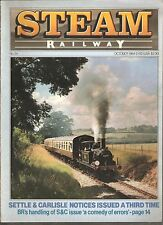*STEAM RAILWAY MAGAZINE No 54 - OCTOBER 1984 [N9]