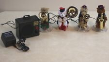 Mr Christmas BEAR BRASS BAND 21 Carol Musical Animated 4 pc Bears No Box