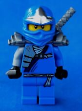 LEGO NINJAGO 9449 BLUE NINJA MINIFIGURE JAY ZX WITH SWORD
