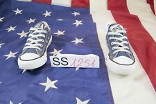 Zapatos Converse basso N.36.5 (Cod. SS1251) mujer lona azul usado