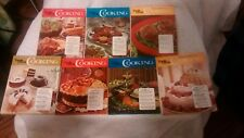 Vintage 1972 Family Circle Illustrated Library of Cooking set of 7 Hardcover