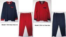 Pijamas y batas de hombre multicolores conjunto
