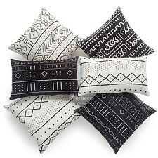 Decorative Throw Lumbar Pillow Case Africa MUD CLOTH Print Bogolan Cushion Cover