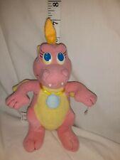 "1999 Vintage Dragon Tales Flying pink Cassie girl Plush Toy Doll Playskool 7"""
