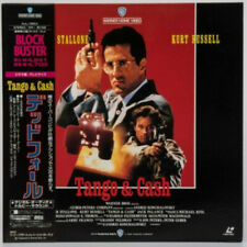 Tango & Cash - Japanese Laserdisc - RARE + OBI Strip