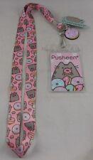 -new-pusheen-donut-id-lanyard-neckstrap-w-rubber-charm
