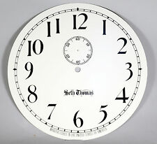 Seth Thomas # 2 Regulator Clock Dial, Arabic, Old Style