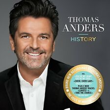 THOMAS ANDERS - HISTORY (DELUXE EDITION) MODERN TALKING  CD NEW+