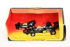 Vintage Corgi Toys 1354 Texaco John Player Special F1 Car + Mini Version