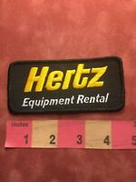 Vintage HERTZ EQUIPMENT RENTAL Advertising Patch C88R