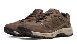 New Balance Leather Mens Shoes Sneakers Brown MW659BM RRP £129.99