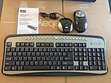 Ativa AT-K350  Office Depot Wireless Optical Desktop Set Keyboard Mouse 660-135