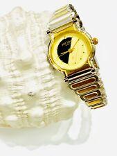 Vintage Pierre Bideaux Women's Quartz  Wrist Watch TwoTone N.O.S(20415M)