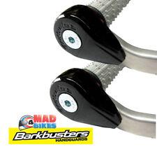 BarkBusters Black Powder Coated Bar End Weights Helps Reduce Handlebar Vibration