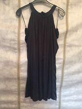 River Island Black Halterneck Dress Size 10