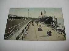 Lot18w - 1907 LANDING STAGE LIVERPOOL Postcard