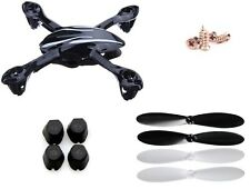 Hubsan X4 H107L LED Frame Shell Propeller Blades Rubber Feet Screw Set Combo US