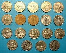 CANADA 5 CENTS  SET 1937 TO 1952 **19pcs**