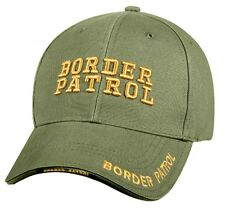 BORDER PATROL Ball Cap ICE FEMA CBP Customs Protection Olive Green OD Hat