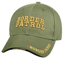 BORDER PATROL Ball Cap Homeland Security ICE FEMA CBP Customs Ballcap DHS OD Hat
