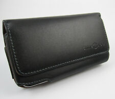 """FOR APPLE IPHONE 6 PLUS 5.5"""" LUXURY GENUINE LEATHER CASE POUCH + Belt Clip"""