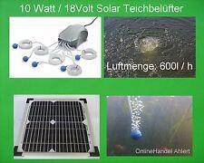 solare aeratore da stagno Pompa Ossigeno AERAZIONE ad aria GIARDINO