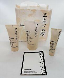 Mary Kay Satin Hands Mini Pampering Set Fragrance Free Smooth Moisturize Soften