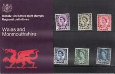 GB 1970 WALES CYMRU DEFINITIVE £.s.d. PRESENTATION PACK No. 24 3d  to 1/6s