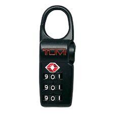 TUMI Alpha Black Red Lettering TSA Lock TSA 002