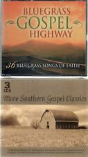 More Southern Gospel Classics & Bluegrass Gospel Highway, 6 CDs, New & Sealed
