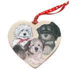 Havanese Porcelain Pet Gift Heart Ornament