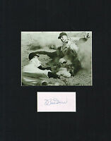 Bobby Bob Doerr signed autograph auto Matted 11x14 Baseball Hall of Fame