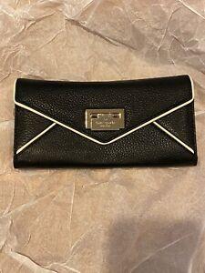 Kate Spade Black And White Cyndy Tuxedo Wallet NWT