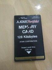 1x Atari Portfolio memory card 128 kilobytes