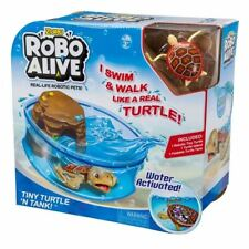 ZURU Robo Alive Real Life Robotic Fish X5 and Bowl Water Activated
