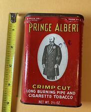 Vintage 1960s Prince Albert Tobacco Tin Old Timers Knife Advertisement Stash Box