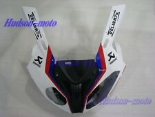 Front Nose Cowl Upper Fairing For BMW S1000RR 2009-2014 S 1000RR White/RE/BL