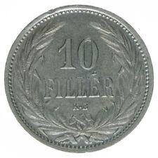 Österreich Ungarn  Habsburg Franz Joseph I. 10 Filler 1909 KB A38639
