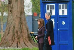 Peter Capaldi and Jenna-Louise Coleman - Doctor Who - 12x8 Unsigned Still