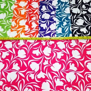 SAMPLE ONLY - Floral waterproof fabric (PVH), ideal for outdoor cushions