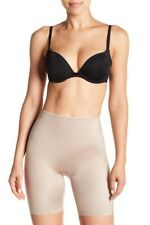 $52 NWT NEW SPANX SLIMPLICITY MID THIGH SHAPER IN SANDCASTLE SIZE M
