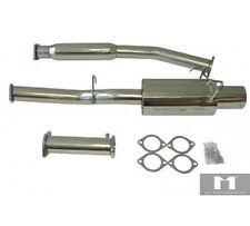 For Nissan 240SX 89-94 S13 2.4L KA24 / 2.0L SR20 Stainless Steel Catback Exhaust