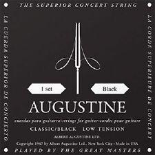 Augustine Classic Black Low Tension Classical Nylon Guitar String Set